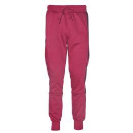 12 Bulk Mens Jogger Sweatpants With Drawstring In Red