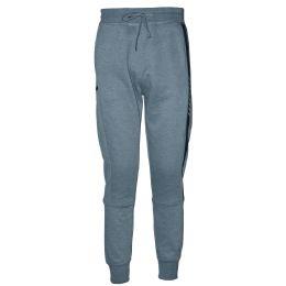 12 Bulk Mens Jogger Sweatpants With Drawstring In Light Grey