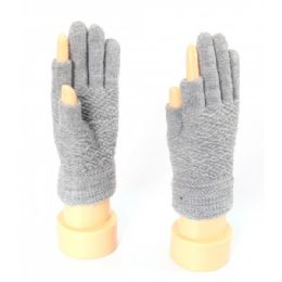 72 Bulk Ladies Thumb And Index Finger Less Gloves