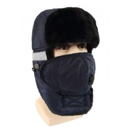 24 Bulk Winter Trapper Hat With Fur