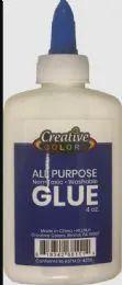 48 Bulk Glue 4OZ Applicator Bottle Washable Non Toxic