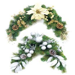 12 Bulk Xmas Wreath Holder Gold Silver