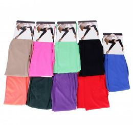 24 Bulk Womans Assorted Leggings One Size Fits All
