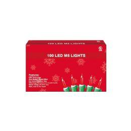 24 Bulk 100 Led Light Red
