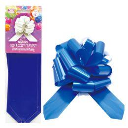 96 Bulk Instant Bow Royal Blue