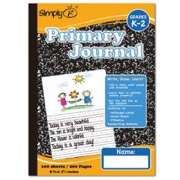 96 Bulk 100 Count Primary Journal Black