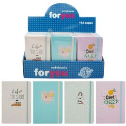 96 Bulk Notebook Assorted Solid Color