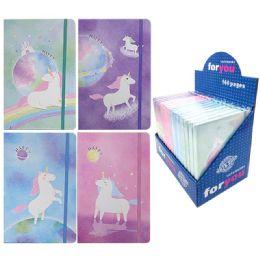 96 Bulk Notebook Unicorn Assorted Color
