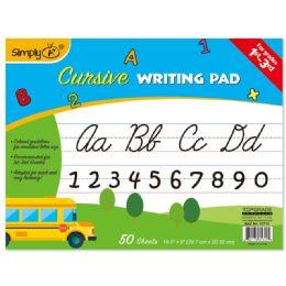 96 Bulk 50 Count Cursive Writing Pad