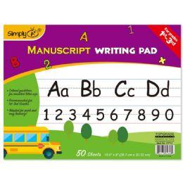 96 Bulk 50 Count Manuscript Writing Pad