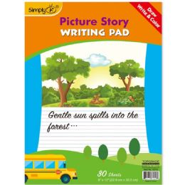 96 Bulk 30 Count Picture Story Pad