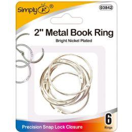 96 Bulk Book Rings
