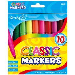 96 Bulk 10 Color Broad Line Jumbo
