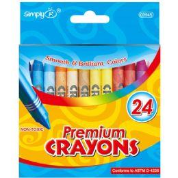 96 Bulk 24 Count Crayon