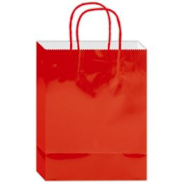 120 Bulk Everyday Gift Bag Red Large