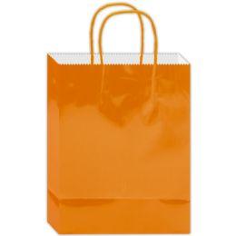 120 Bulk Everyday Gift Bag Orange Large