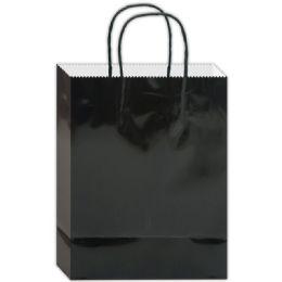 120 Bulk Everyday Gift Bag Black Size Large