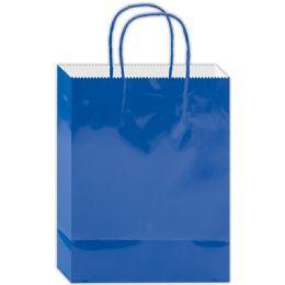 120 Bulk Everyday Gift Bag Blue Size Large