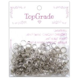 96 Bulk Do It Yourself Ring Silver