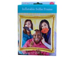 48 Bulk Gold Inflatable Selfie Frame