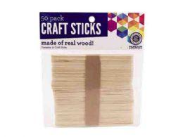 72 Bulk 50 Pack Wood Craft Sticks