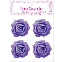 96 Bulk Foam Rose In Purple