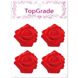 96 Bulk Foam Rose In Red