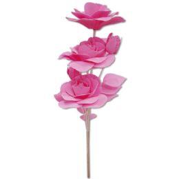 24 Bulk Foam Flower In Pink