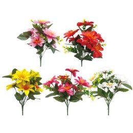 144 Bulk 7 Head Flower Assorted