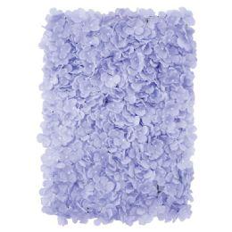 12 Bulk Flower Wall Decoration Hydrangea In Lavender