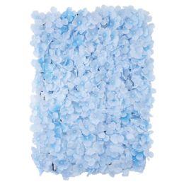 12 Bulk Flower Wall Decoration Hydrangea In Light Blue