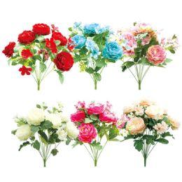 12 Bulk 12 Head Flower Assorted