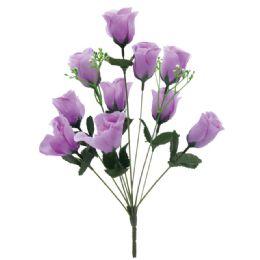 144 Bulk 10 Head Rose In Lavender