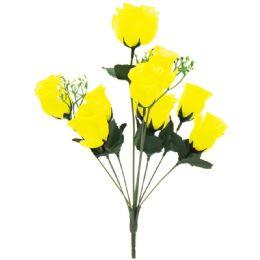 144 Bulk 10 Head Rose In Yellow