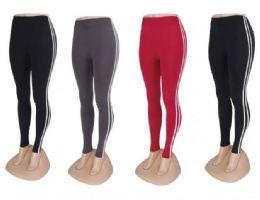24 Bulk Buttery Soft Leggings For Women One Size