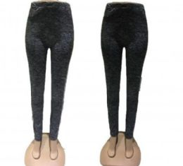 72 Bulk Womens High Waisted Leggings For Women Buttery Soft Stretch