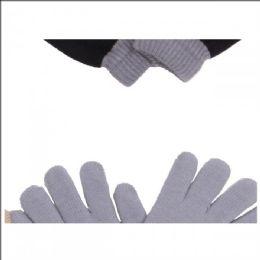 120 Bulk Gloves Warm Knitted Magic Full Fingers Gloves