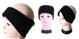 120 Bulk Ear Warmers Muff Winter Headband for Men Women Running Yoga Skiing Riding
