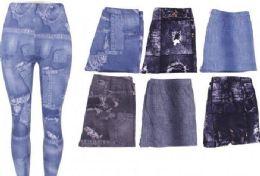 72 Bulk Women's Popular Buttery Soft Classic Fashion Print Leggings