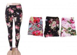 72 Bulk Women's Printed Fashion Leggings Ultra Soft And Patterned