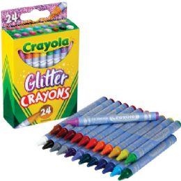 288 Bulk Crayola Glitter Crayons