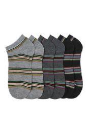 432 Bulk Men's Spandex Ankle Socks Size 10-13