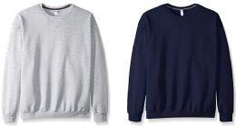 24 Bulk Mens Mix Brands Colors And Sizes Irregular Sweat Shirts, Mix Closeout Lots