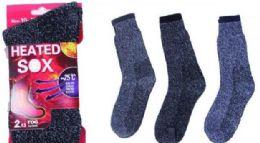 60 Bulk Mens Heated Sock