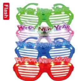 24 Bulk LED new year glasses
