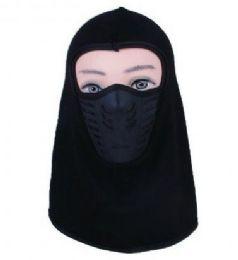 48 Bulk Mens Face Mask Cotton With Fleece