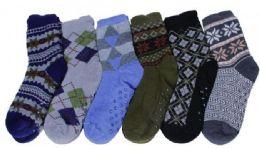 90 Bulk Mens Shoe Printed Socks