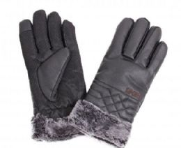 48 Bulk Men's Leather Winter Glove