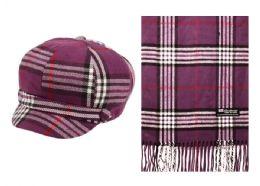 12 Bulk Classic Hand Made Chunky Yarn Knit Beret