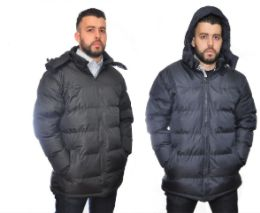12 Bulk Mens Fashion Padded Coat